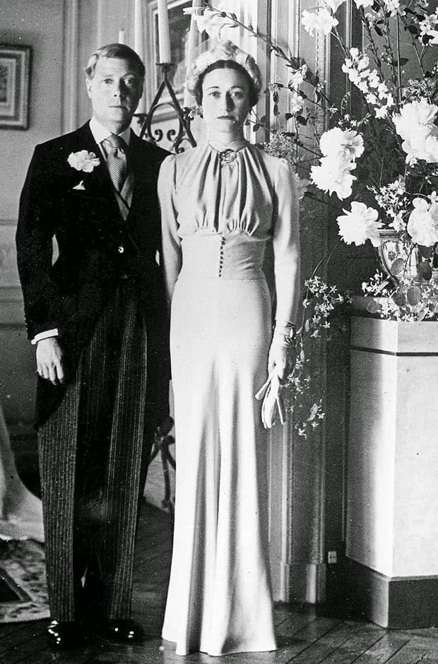 Princess Margaret Style >> Diane on Whidbey Island: Wallis Simpson Wedding Dress
